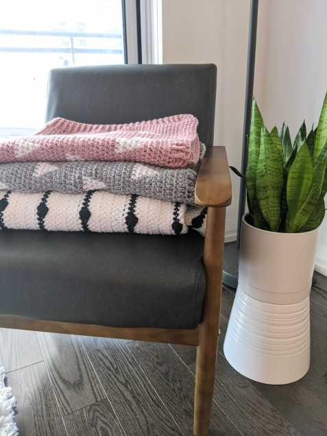 Crochet blankets - free pattern
