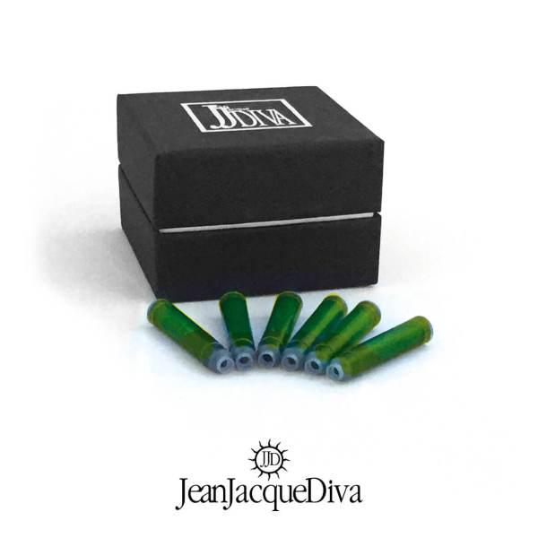 cartucce-inchiostro-per-stilografica-colore-verde-Ink-jeanjacquediva-jjd1959