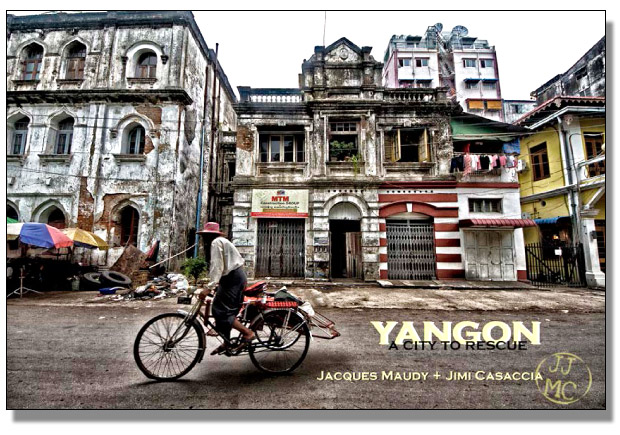 Yangon a City to rescue Book Cover
