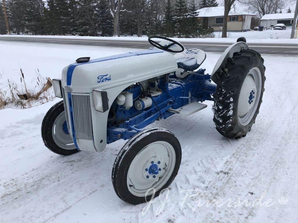 Ford 8n Box Gerar 1951 Tractor Oil Fill