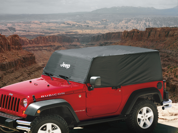 Cab Covers: Covers are available in two materials: heat-reflecti