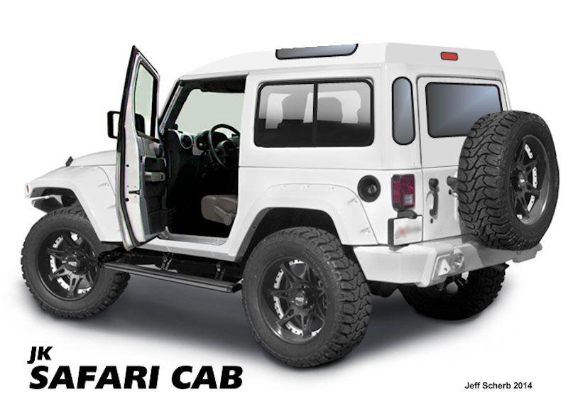This Jk Safari Cab Would Be A Huge Hit Jk Forum