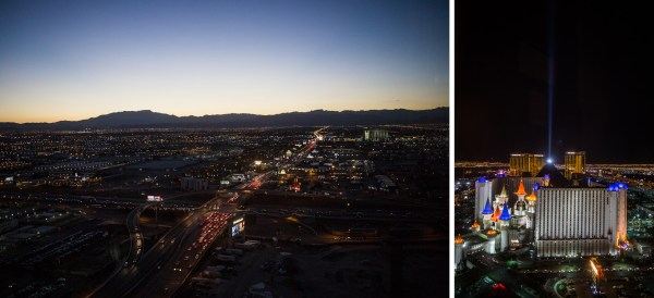 Las Vegas Dusk and Night