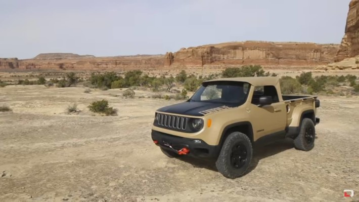 2016 Jeep Comanche >> 2016 Jeep Comanche Concept At Easter Jeep Safari Jk Forum