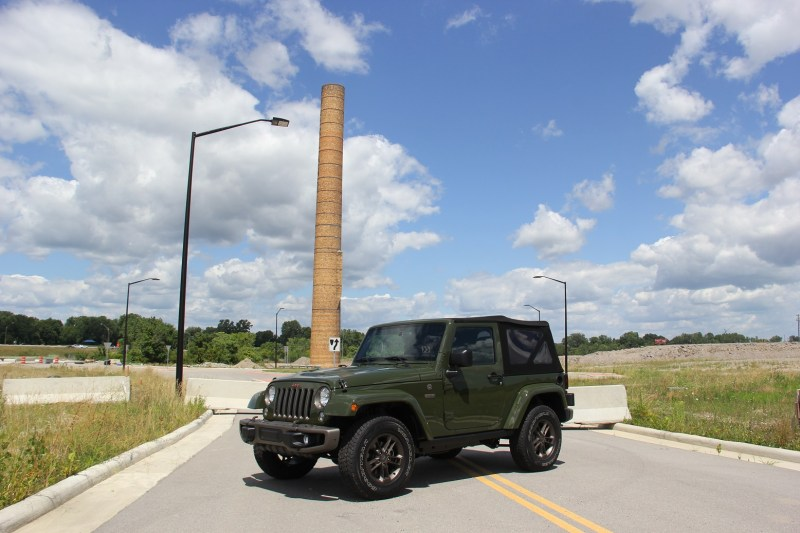 Jeep Wrangler - smoke stack
