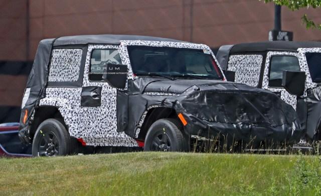 2018 Jeep Wrangler Prototype