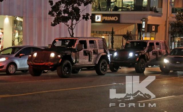 2019 Jeep Wrangler JL Spy Shots