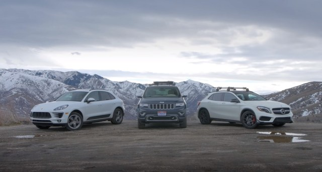 Can the Grand Cherokee compete with Mercedes and Porsche CUVs?