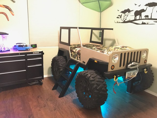 Jeep Wrangler Bed Construction