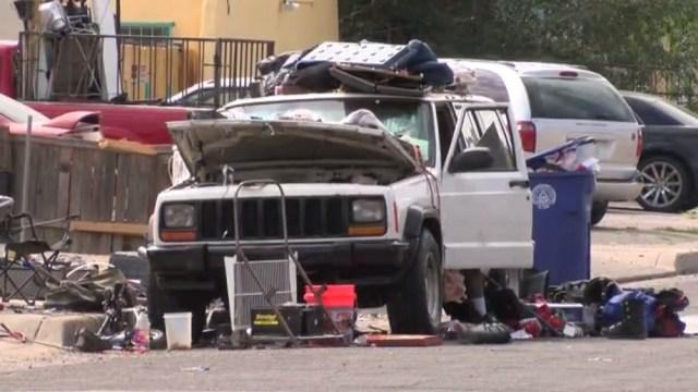 Jeep Cherokee New Mexico Camping