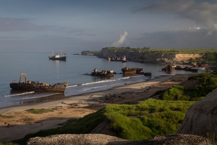 Shipwreck Beach Angola