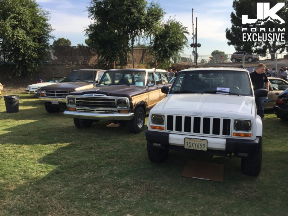 Jeeps at Radwood 2