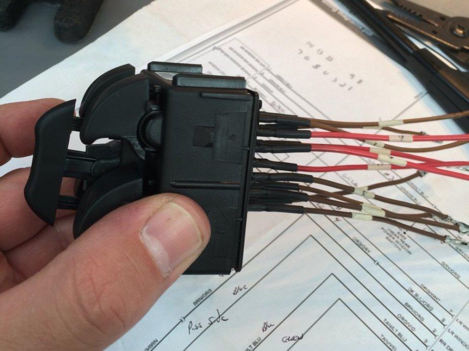 JK Wrangler Power Window Switch