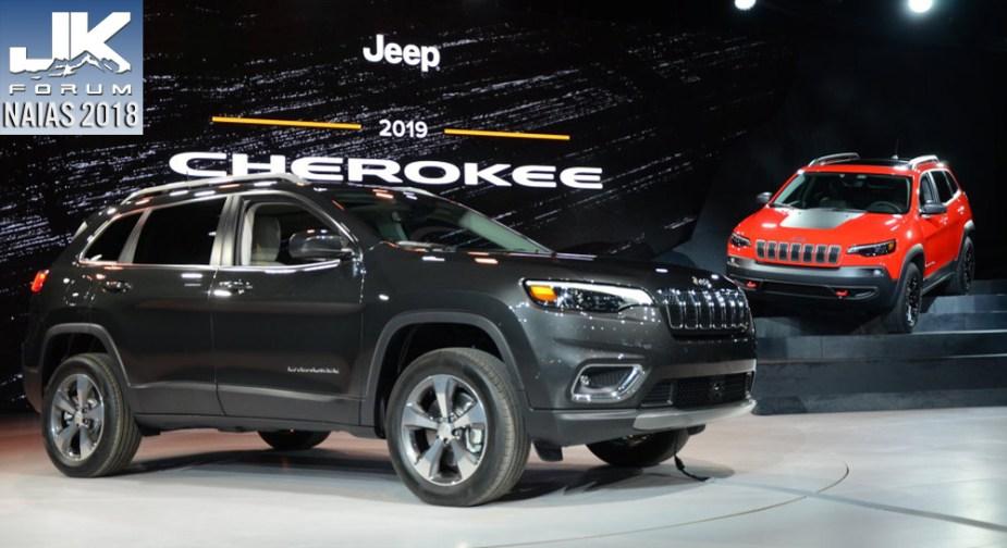 JK-Forum - 2019 Jeep Cherokee Debut