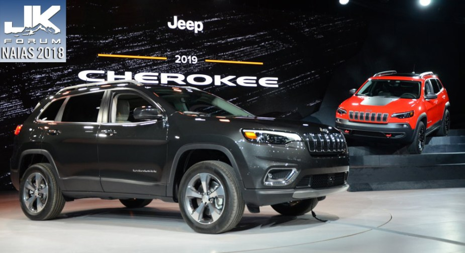 2019 Jeep Cherokee: Prettier And Turbocharged >> 2019 Jeep Cherokee Debuts In Detroit With Prettier Face Turbo
