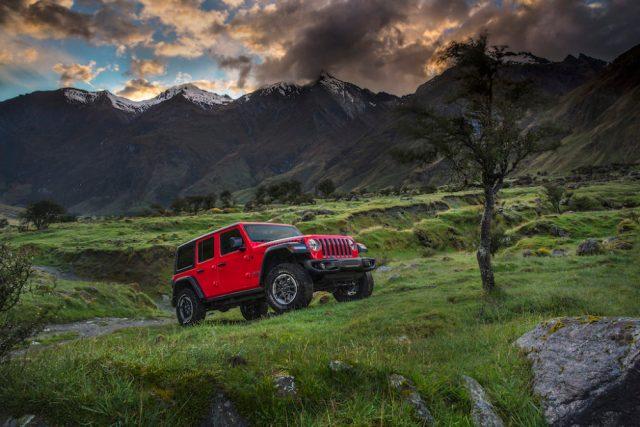 All-new 2018 Jeep Wrangler Rubicon