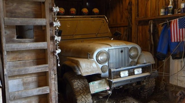 1979 Jeep Barn Find
