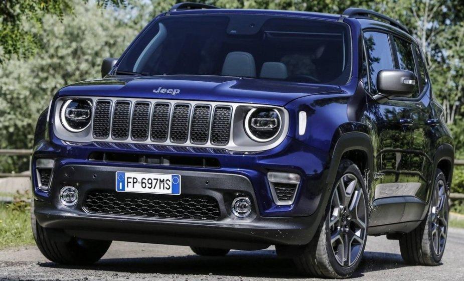 2019 Jeep Renegade European Front