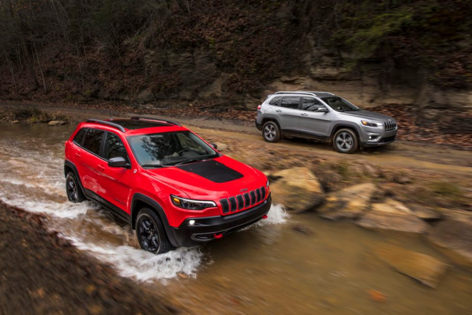 2019 Jeep Cherokee Trailhawk and Jeep Cherokee Limited