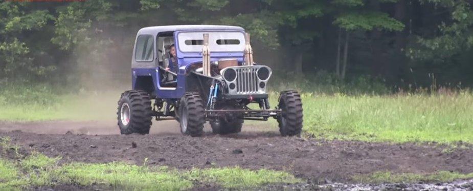 Little Blue Jeep Clean