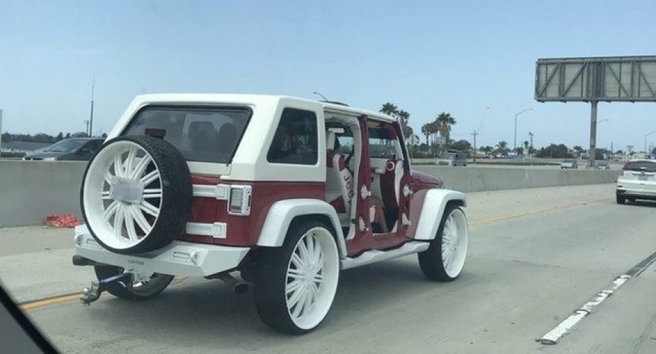Hideous Jeep Wrangler JK