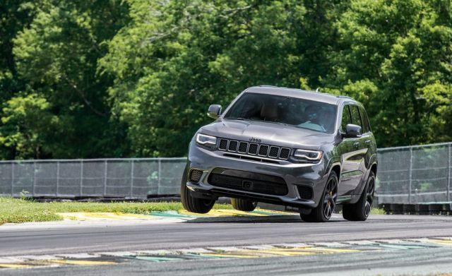 Trackhawk Virginia International Raceway track test