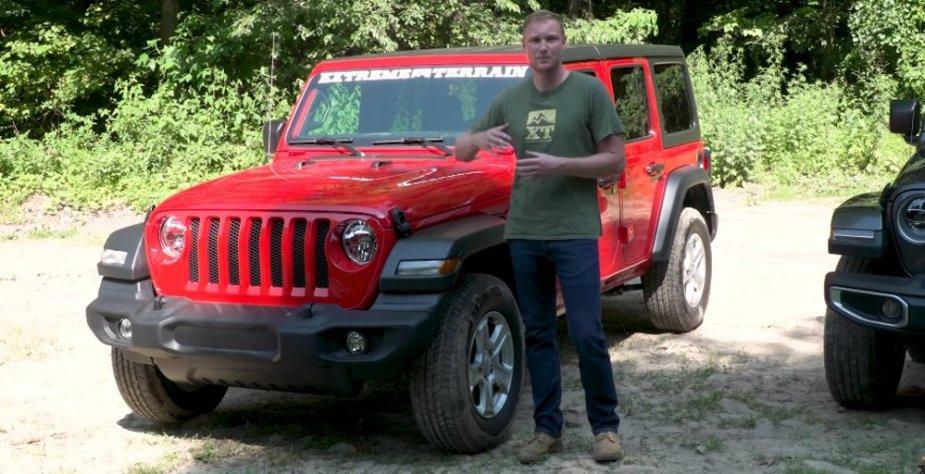 Jeep Wrangler Sport S