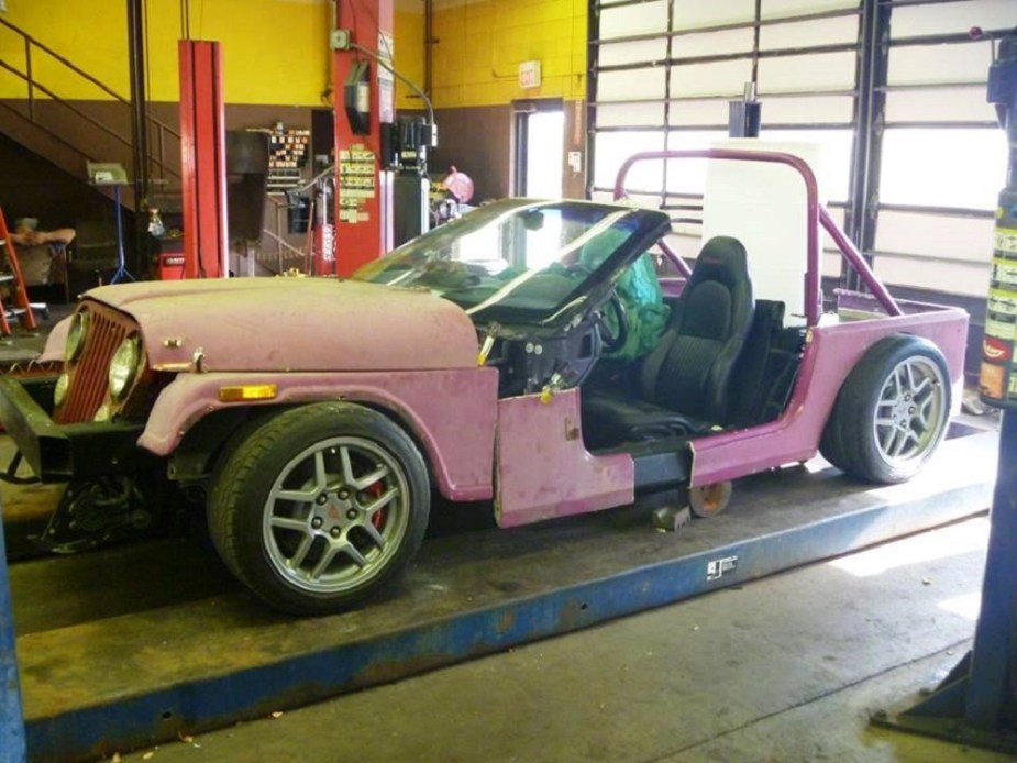Jeep Bodied Corvette