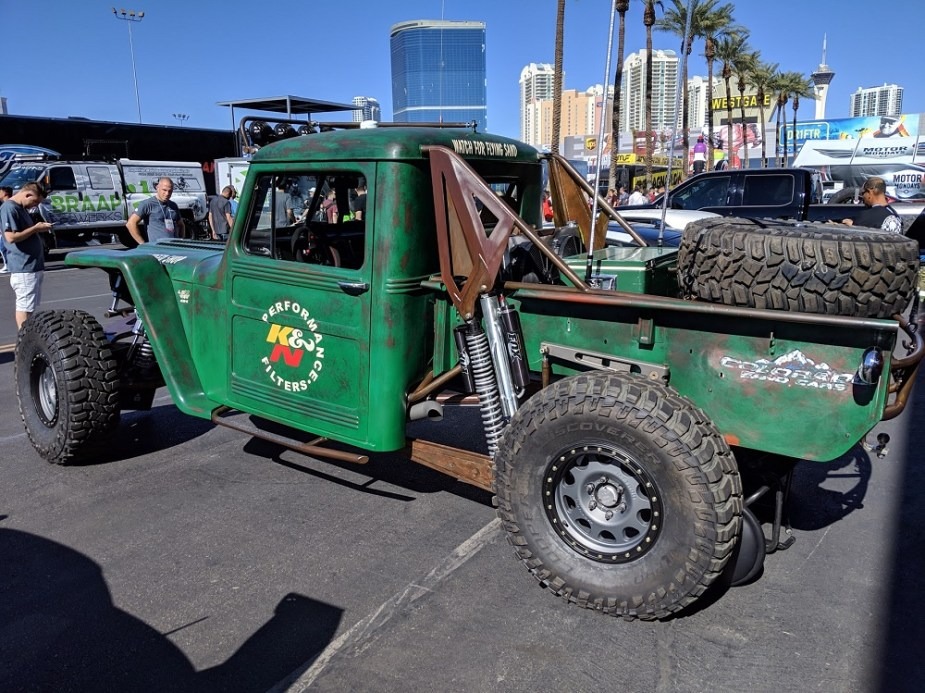 LSX-Powered Willy Jeep