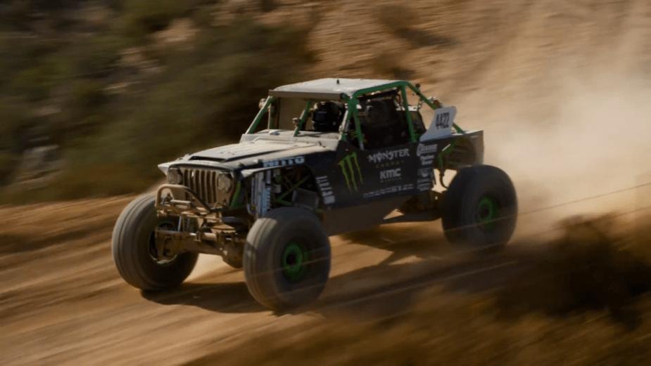 SCORE Jeep hammer truck