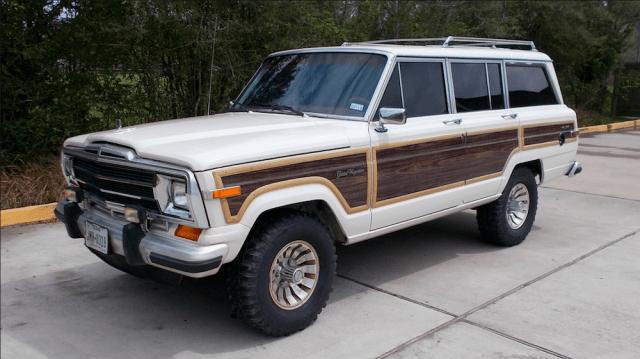 1986 Jeep Grand Wagoneer.