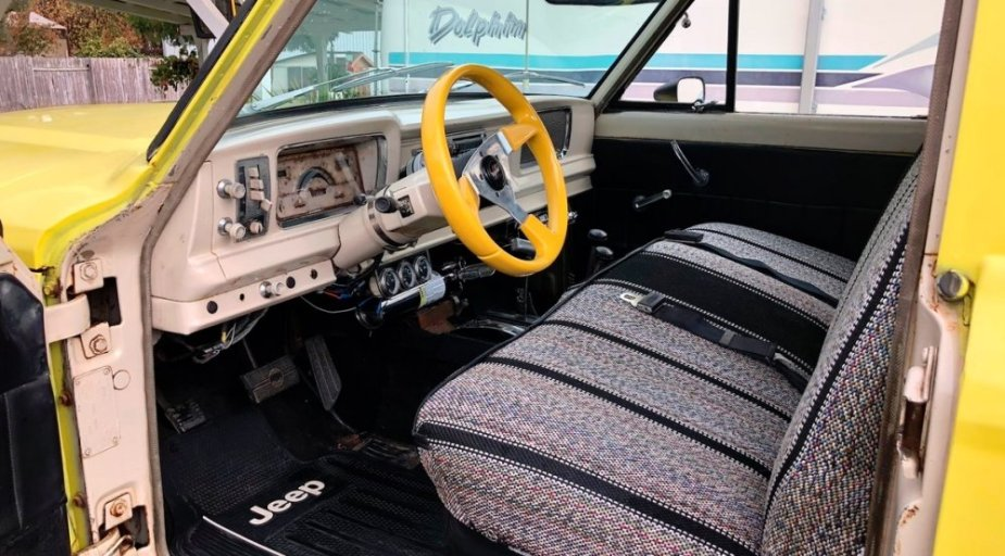 1965 Jeep Gladiator Interior