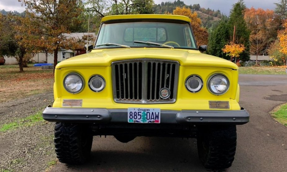 1965 Jeep Gladiator Front End