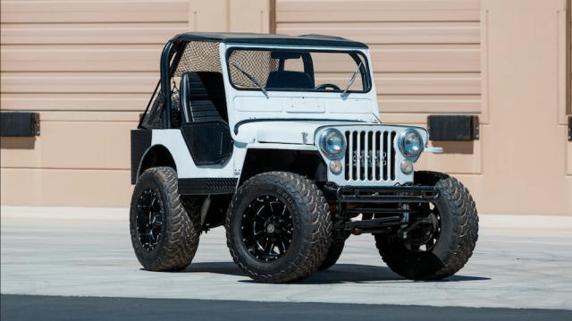 Custom 1951 Willys Jeep CJ-3A