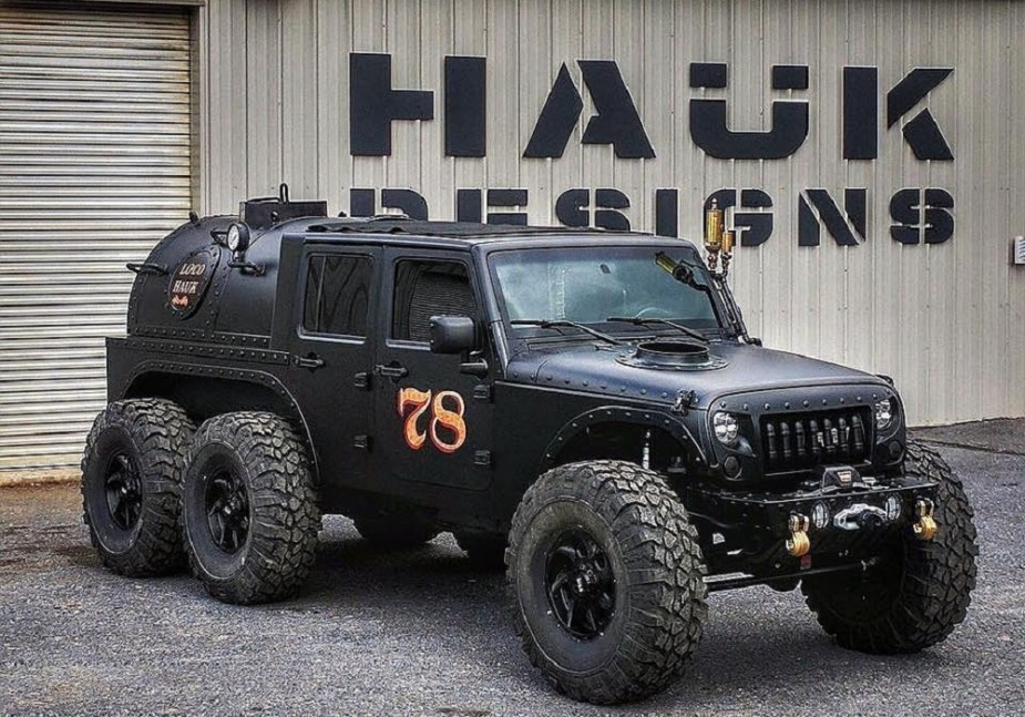 Haük Designs Steam-Powered Jeep