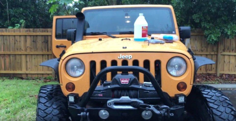 Jeep Squirt Gun Install Parts