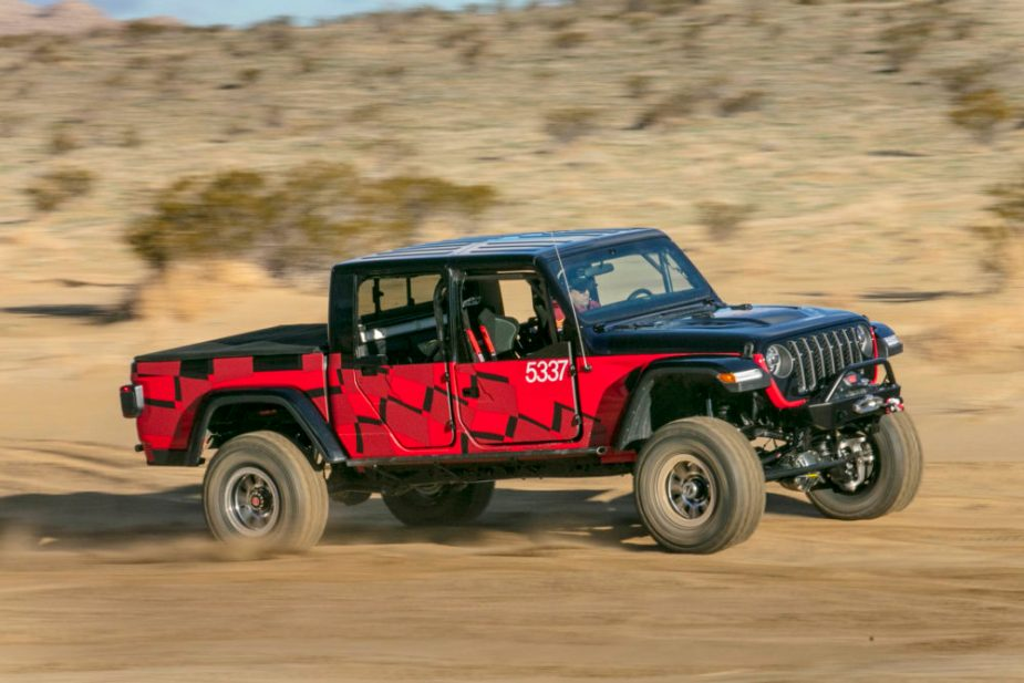 2020 Jeep Gladiator at 2019 King of the Hammers