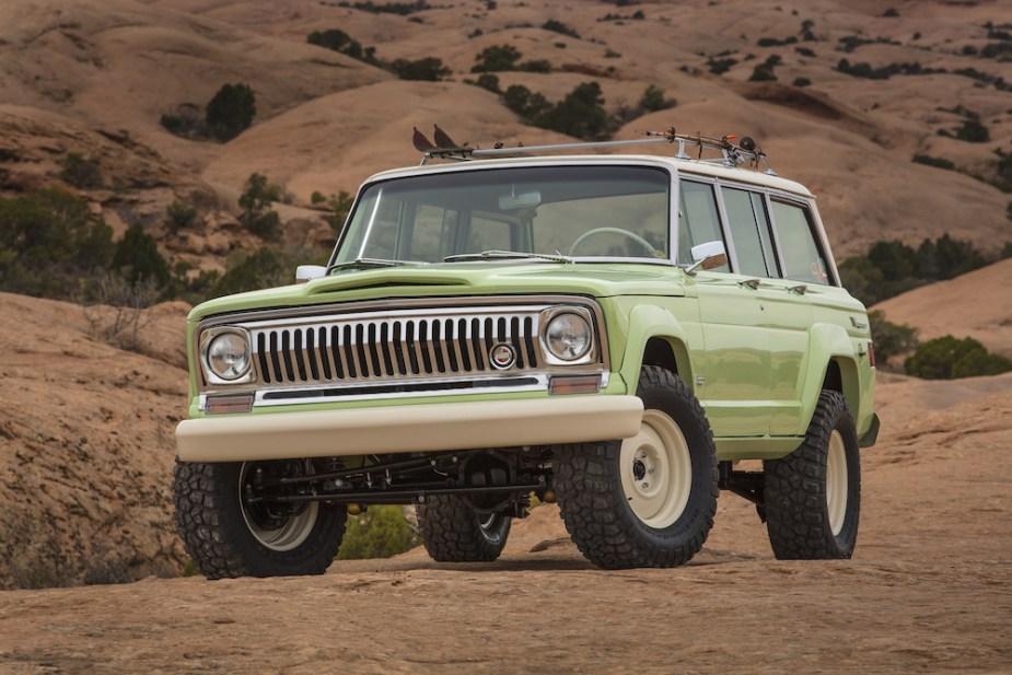 2018 Jeep Wagoneer Roadtrip Concept