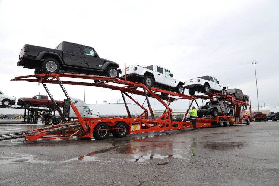 2020 Jeep Gladiator ready for shipment