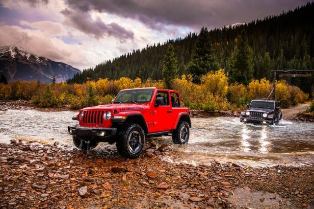 2018 Jeep Wrangler Rubicon & Sahara