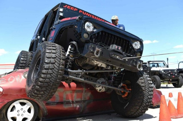 Jeep Car Crushing