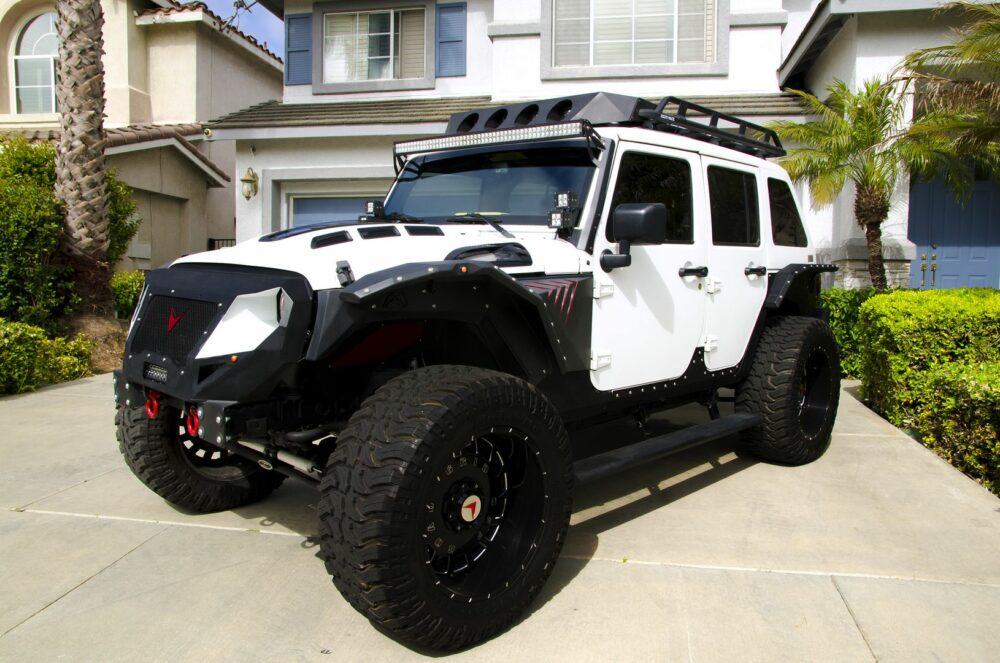 Custom Voltron Wrangler Owned by Fast and Furious Actor ...