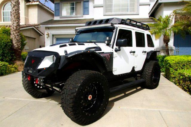 Tyrese Voltron Jeep Wrangler
