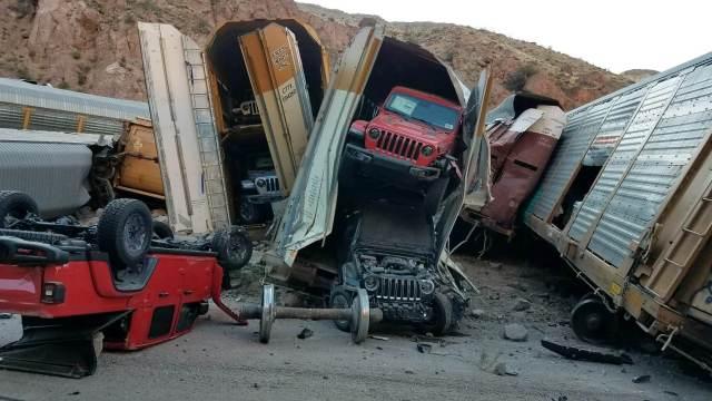 Jeep Derailment
