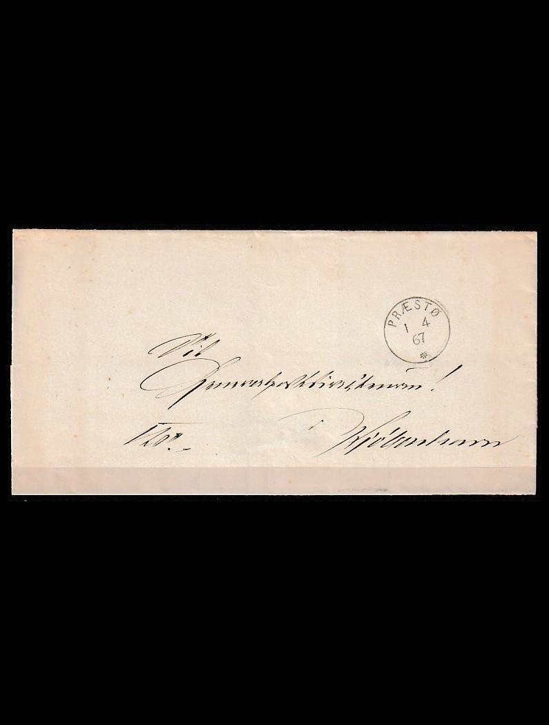 DK Tjenestebrev til København 1867