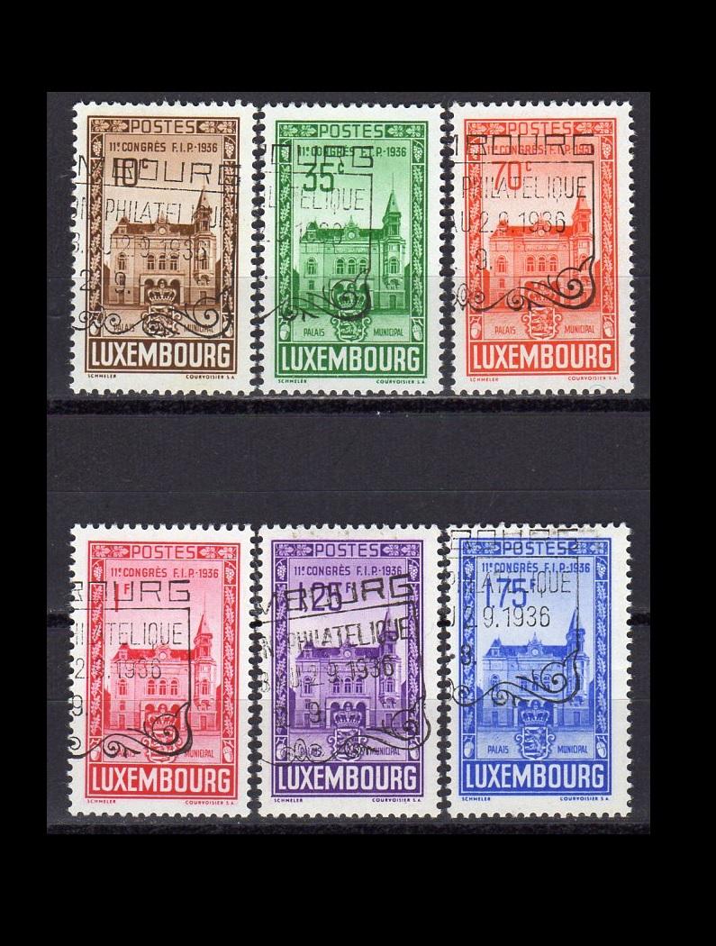 Luxemborg AFA 293-98 stemplet