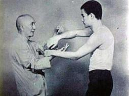 Bruce Lee & His Teacher Yip Man