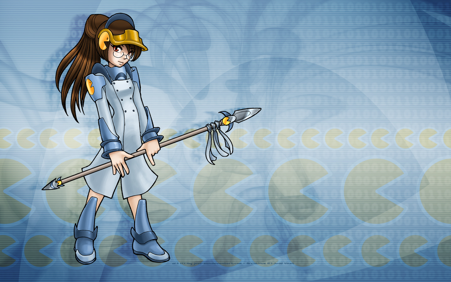 Ericlinux Anime Wallpapers Gnu Linux