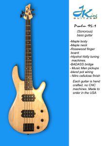 My Sonorous Bass Handmade Guitar