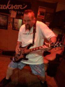 Billy Roan playing Roan-1 made by Josh King Guitars